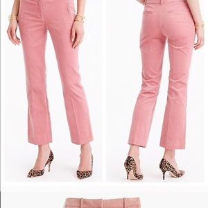 J. Crew Blush Corduroy Pants